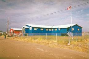 Attawapiskat Band Office, photo credit: Paul Lantz